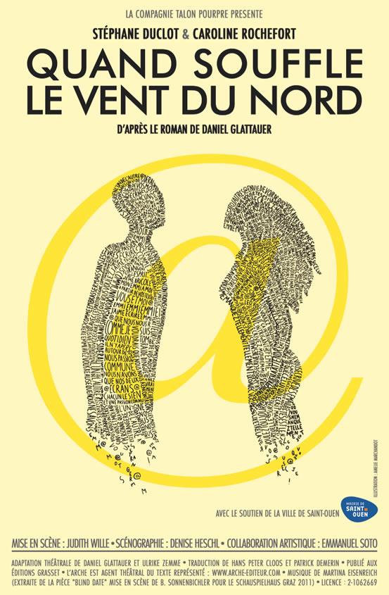 Quand souffle le vent du nord, Stéphane Duclot, Caroline Rochefort