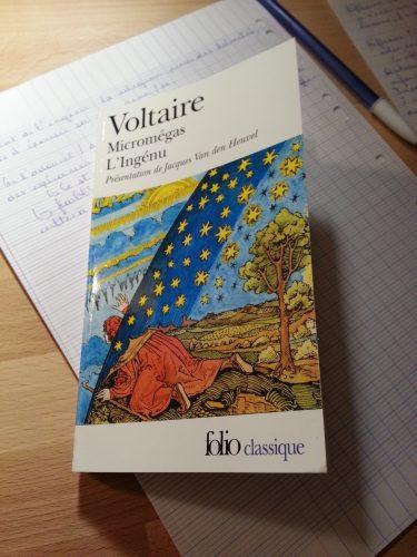 Micromégas, l'Ingénu, Voltaire.