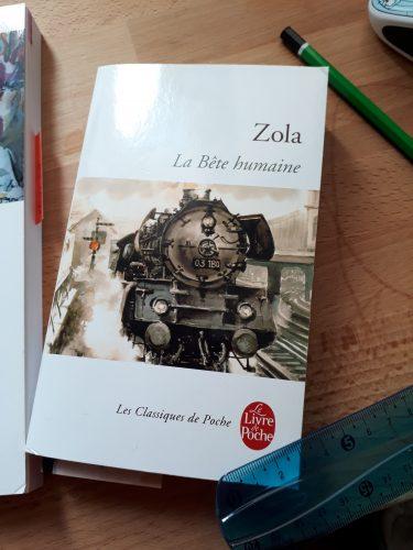 La Bête humaine, Zola