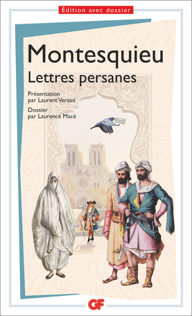 Les lettres persanes, Montesquieu