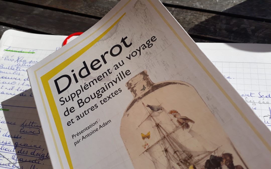 Supplément au voyage de Bougainville, Diderot