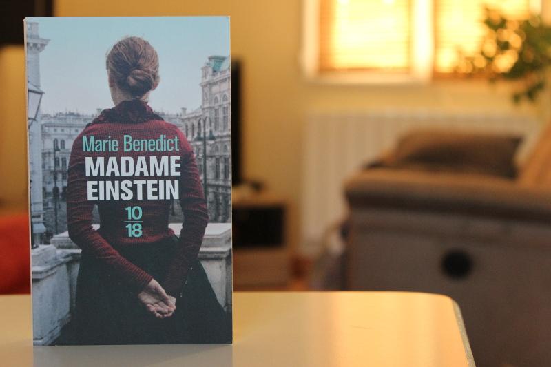 Madame Einstein, Marie Benedict