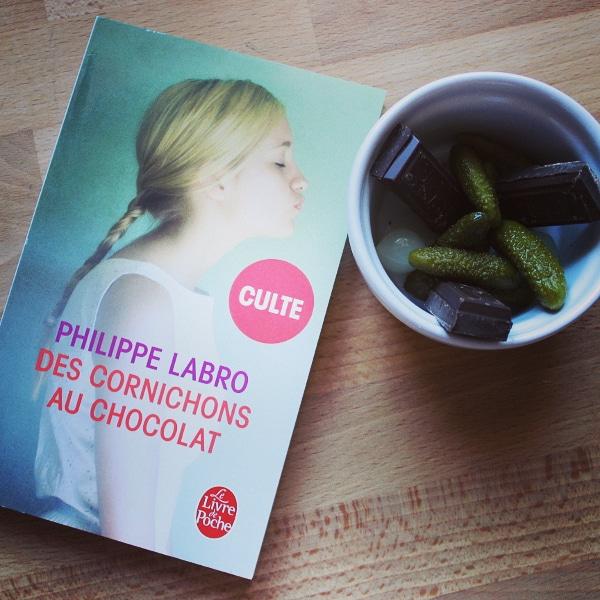 Des cornichons au chocolat, Philippe Labro